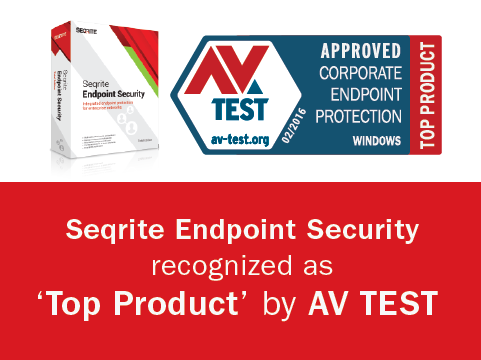 Seqrite Endpoint Security (EPS) rated 'Top Product' by AV TEST Institute