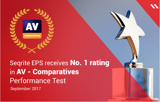 Seqrite receives No. 1 rating in AV – Comparatives Performance Test