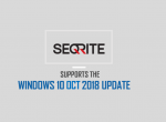 Seqrite Endpoint Security supports the Windows 10 October 2018 Update