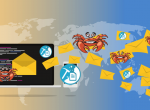 GandCrab Ransomware along with Monero Miner and Spammer