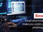Beware! Email attachments can make you victim of spear phishing attacks
