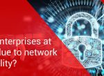 Can network visibility be at risk in an enterprise