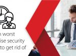 What are some of the worst enterprise security habits?