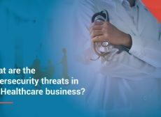 What are the cybersecurity threats in the Healthcare business
