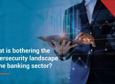 What is bothering the cybersecurity landscape in the banking sector