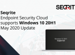 Seqrite Endpoint Security Cloud supports Windows 10 20H1 May 2020 Update