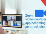 Zoom video-conferencing app becoming an attack channel