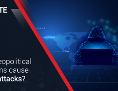 Can geopolitical tensions cause cyberattacks?