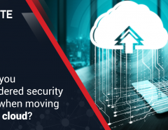 Have you considered security risks when moving to the cloud?