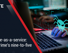 Malware-as-a-service: Cybercrime's nine-to-five
