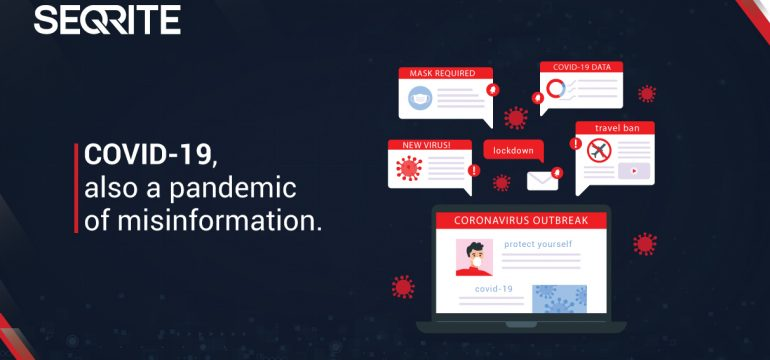 COVID-19, also a pandemic of misinformation.