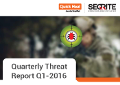 Quarterly Threat Report Q1 2016