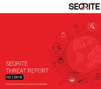 Threat Report H2 2018