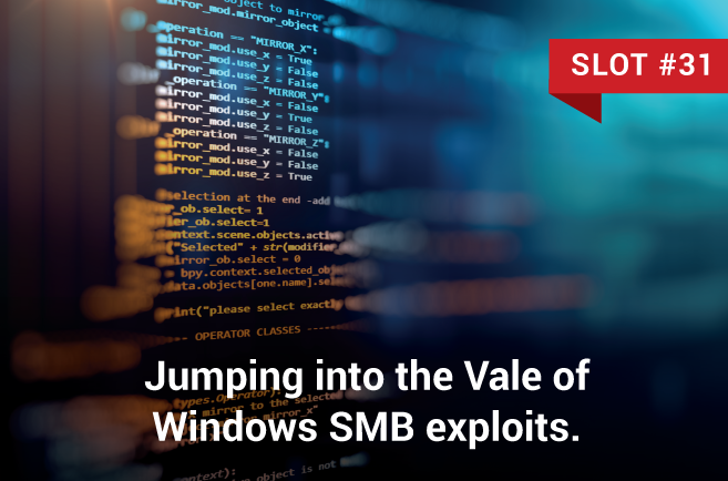 Jumping into the Vale of Windows SMB exploits